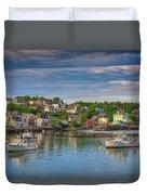 Stonington Harbor Duvet Cover