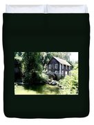 Stony Brook Gristmill And Museum Duvet Cover