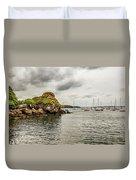 Stony Cove, Ireland Duvet Cover