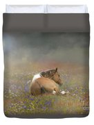Stopping To Smell The Flowers Duvet Cover