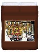 Store Front Wedding Duvet Cover