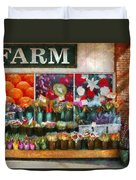 Store - Westfield Nj - The Flower Stand Duvet Cover