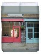 Storefronts For Let Duvet Cover