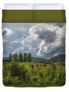 Storm And Cattle Duvet Cover