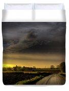 Storm Before Sunset Duvet Cover