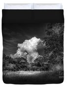 Storm Beyond The Meadow Duvet Cover
