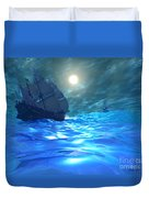Storm Brewing Duvet Cover by Corey Ford
