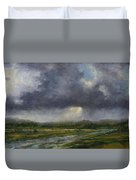 Storm Brewing Over The Refuge Duvet Cover