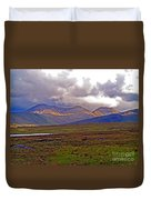 Storm Clouds Ahead In Connemara Duvet Cover