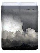 Storm Clouds Are Brewin' Duvet Cover