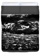Storm Clouds Gathering In The Rockies Duvet Cover