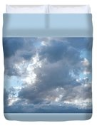 Storm Clouds Passing Duvet Cover