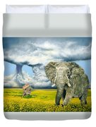 Storm Field Duvet Cover