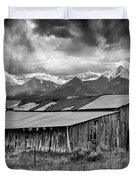 Storm In B And W Duvet Cover