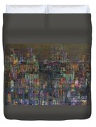 Storm In The City  Duvet Cover