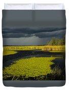 Storm Light At Patten Lake #2 Duvet Cover