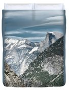Storm Over Half Dome Duvet Cover