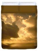 Storm Over Ocean Duvet Cover
