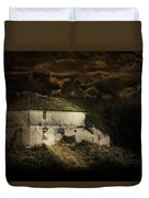 Storm Over Old Country House Duvet Cover