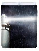 Storm Searchlight Duvet Cover