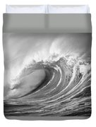 Storm Wave - Bw Duvet Cover