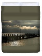 Storms Brewin' Duvet Cover