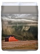 Storm's Coming Duvet Cover