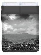 Storms In Contrast Duvet Cover