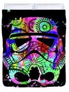 Stormtrooper Mask Rainbow 6 Duvet Cover