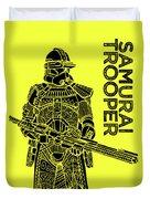 Stormtrooper - Yellow - Star Wars Art Duvet Cover