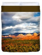 Stormwatch Arizona Duvet Cover