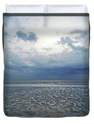 Stormy Beach Beauty Duvet Cover