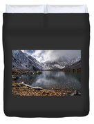 Stormy Convict Lake Duvet Cover