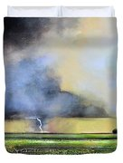 Stormy Field Duvet Cover