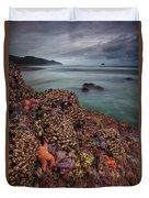 Stormy Life At Sea Duvet Cover