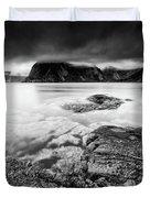 Stormy Lofoten Duvet Cover