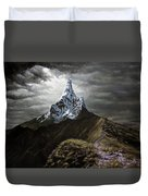 Stormy Mountain Duvet Cover