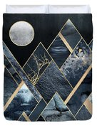Stormy Mountains Duvet Cover