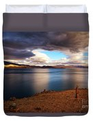 Stormy Peace Duvet Cover