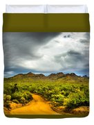 Stormy Road Home Duvet Cover