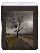 Stormy Roads Duvet Cover