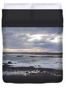 Stormy Seas And Sky Duvet Cover