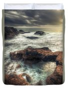 Stormy Seascape Duvet Cover