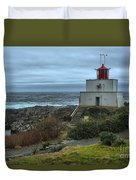 Stormy Skies Over Amphitrite Duvet Cover