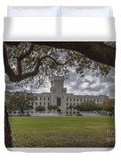 Stormy Skies Over The Citadel Duvet Cover