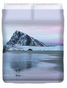 Storsandnes, Lofoten - Norway Duvet Cover