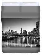 Story Bridge Brisbane Duvet Cover
