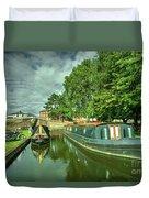 Stourport Narrowboats  Duvet Cover
