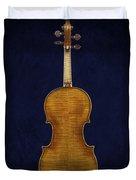 Stradivarius Violin Back Duvet Cover