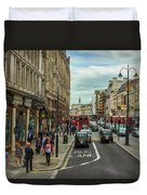 Strand Street, London. Duvet Cover
